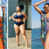 Connie Ferguson and Her Daughter Wearing Swim Wear,See Beautiful Pics