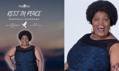 RIP Sis Ouma From Skeem Saam,This Is What Happened To Her